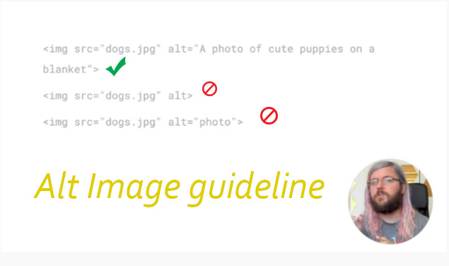 best tip of writing image alt text