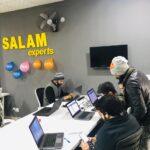 working environment at Salam