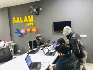 working environment at Salam